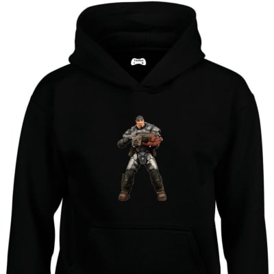 Marcus Fenix Classic Gaming Character Hoodie