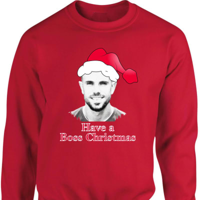 "Liverpool ""Hendo"" Jordan Henderson Boss Christmas Sweatshirt"