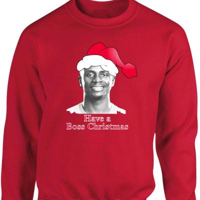 Liverpool Mane Boss Christmas Sweatshirt