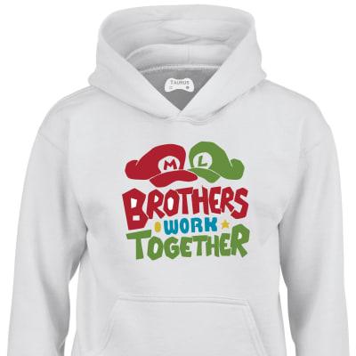 Mario Brothers Kids Hoodie