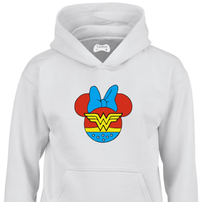 Minnie Mouse World Kids Hoodie