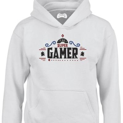 Super Gamer Kids Hoodie