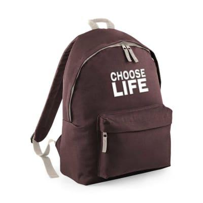 Choose Life Fashion Rucksack