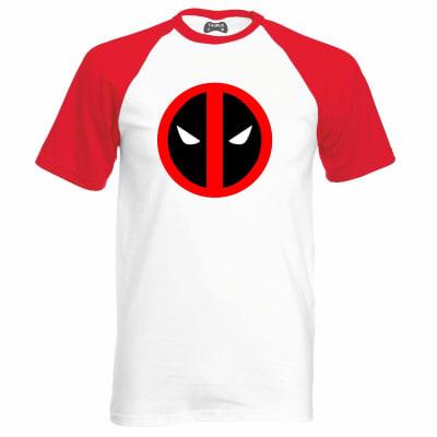 Mr Deadpool Geek Raglan T-Shirt