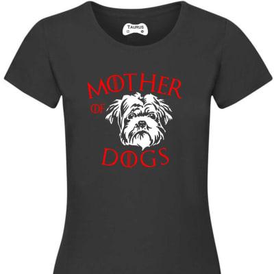 MOTHER OF DOGS AFFENPINSCHER T SHIRT