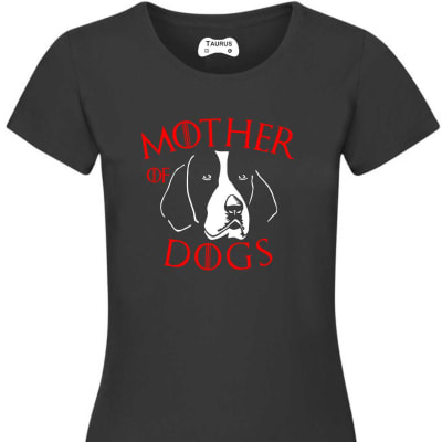 AMERICAN FOXHOUND MOTHER OF DOGS  T SHIRT