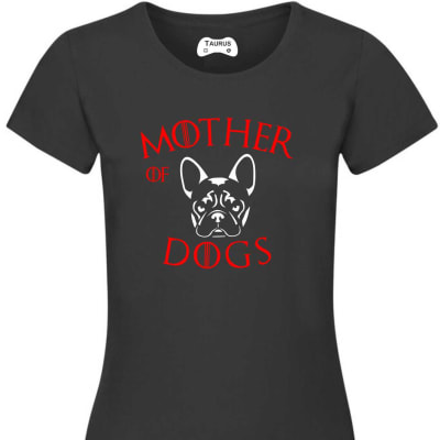 MOTHER OF DOGS FRENCHBULLDOG T SHIRT
