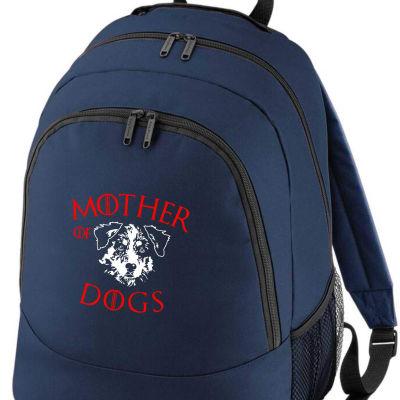 AUSTRALIAN  SHEPHERD MOTHER OF DOGS RUCKSACK