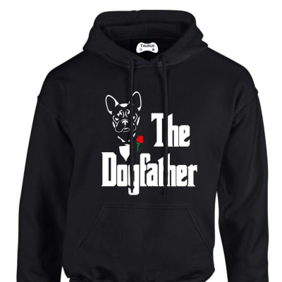 FRENCH BULLDOG THE DOGFATHER HOODIE