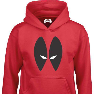 Deadpool Kids Hoodie Front Only