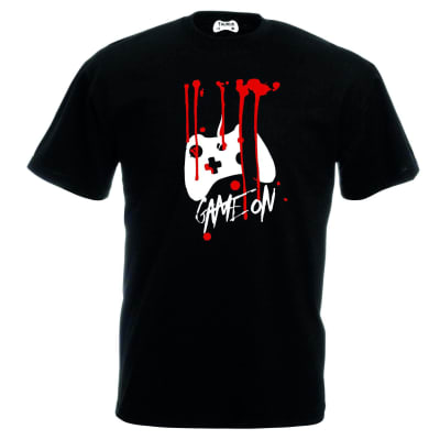 Game On T-Shirt Blood