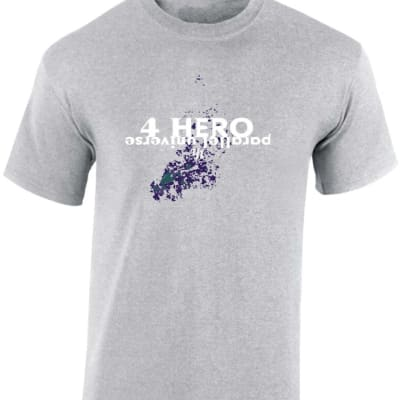 4 Hero Parallel Universe Drum and Bass T Shirt