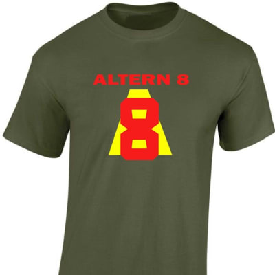 Altern 8 Classic Rave T Shirt