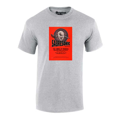 Sabersonic Sabres of Paradise Andrew Weatherall Flyer T Shirt