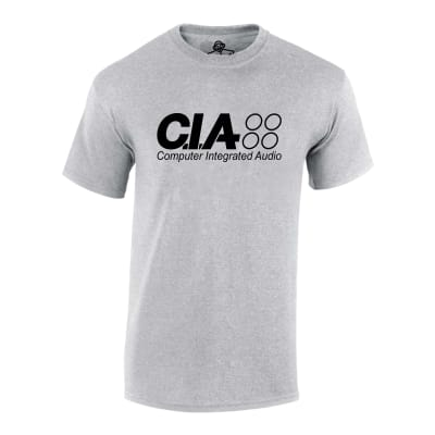 C I A Computer Integrated Audio T Shirt