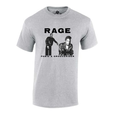 Fabio and Grooverider Rage T Shirt