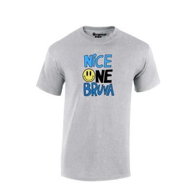 Nice One Bruva  T Shirt Classic Rave