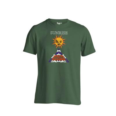 Sunrise Back To The Future T Shirt