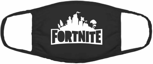 Fortnite Logo Face Mask