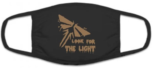 The Last of Us Part 2 Face Mask Look for the Light Firefly