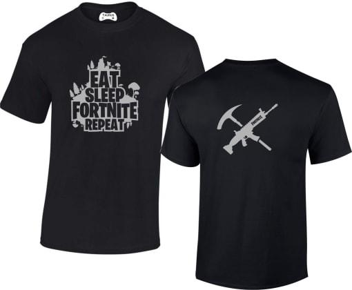 Fornite Eat Sleep Fortnite Repeat T-shirt