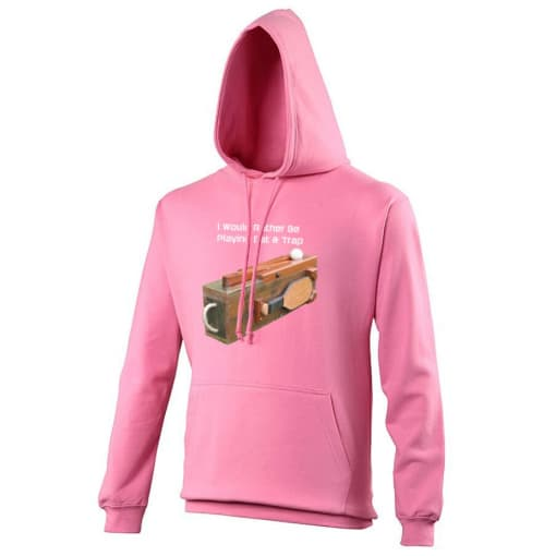I Would Rather Be Playing Bat & Trap Hoodie
