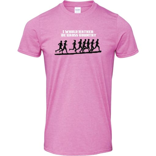 I Would Rather Be Cross Country T Shirt