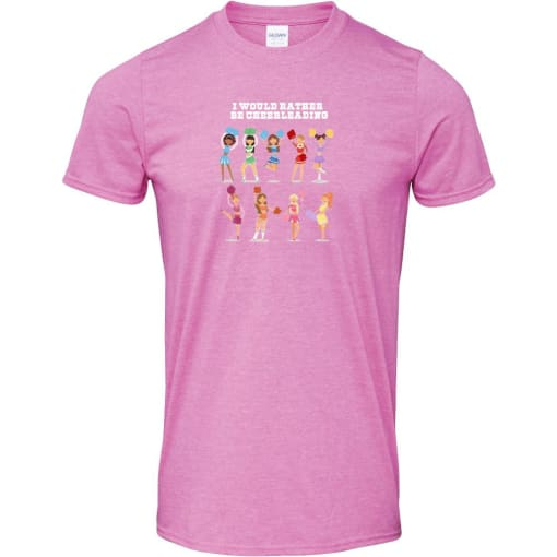 I Would Rather Be Cheerleading T Shirt