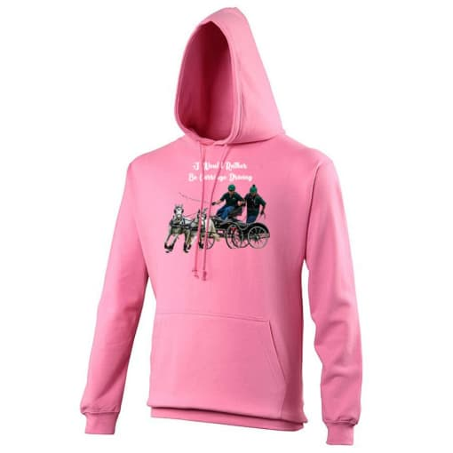 I Would Rather Be Carriage Driving Hoodie