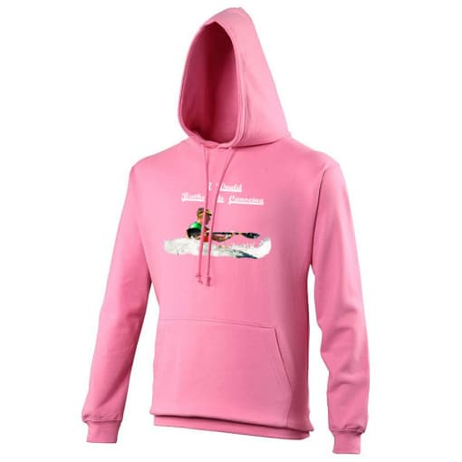 I Would Rather Be Canoeing Hoodie