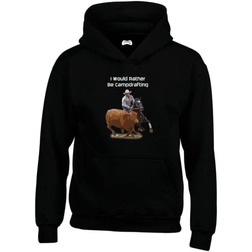 I Would Rather Be Campdrafting Hoodie