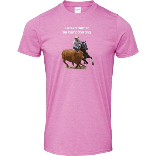 I Would Rather Be Campdrafting T Shirt