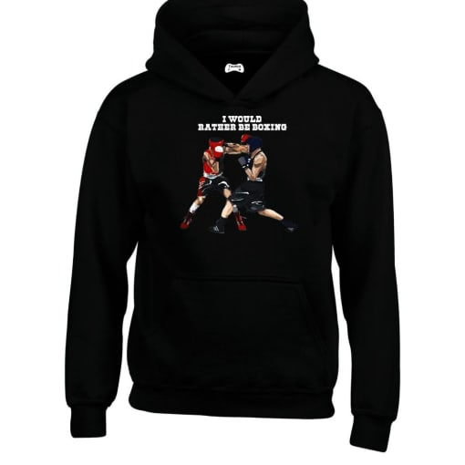 I Would Rather Be Boxing Hoodie