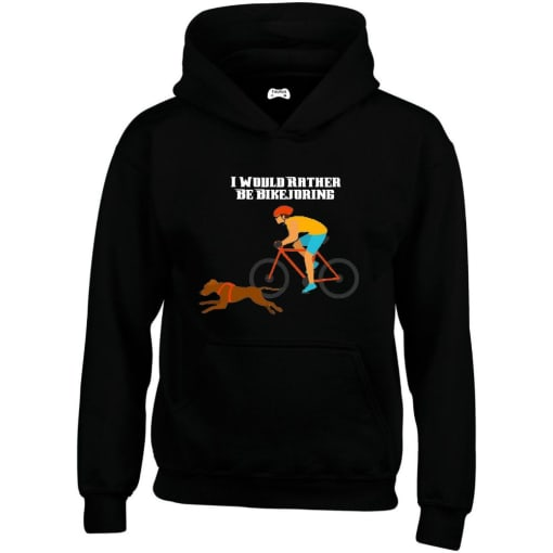 I Would Rather Be Bikejoring Hoodie