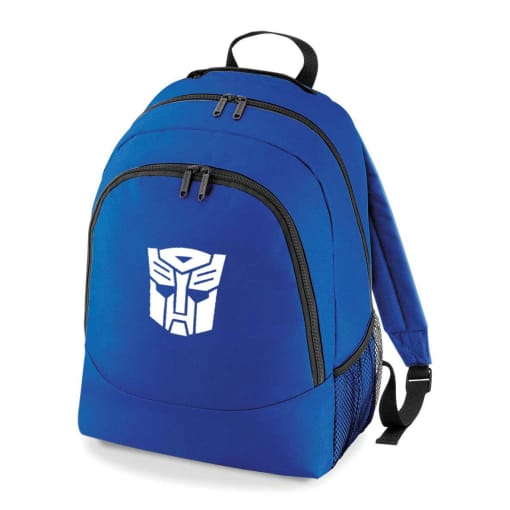 Transformers Optimus Prime Embroidered Rucksack