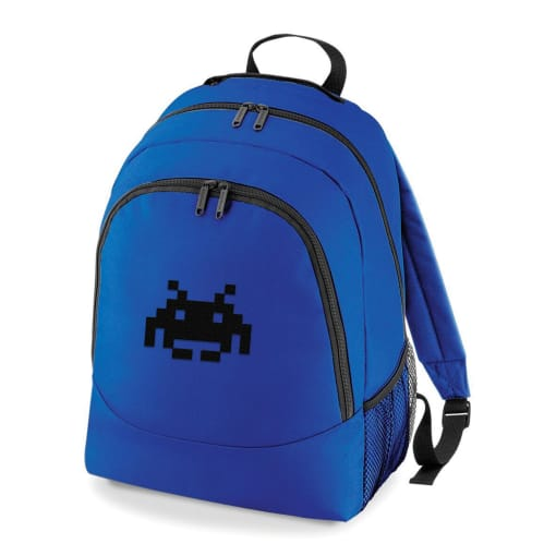 Space Invaders Rucksack Bag