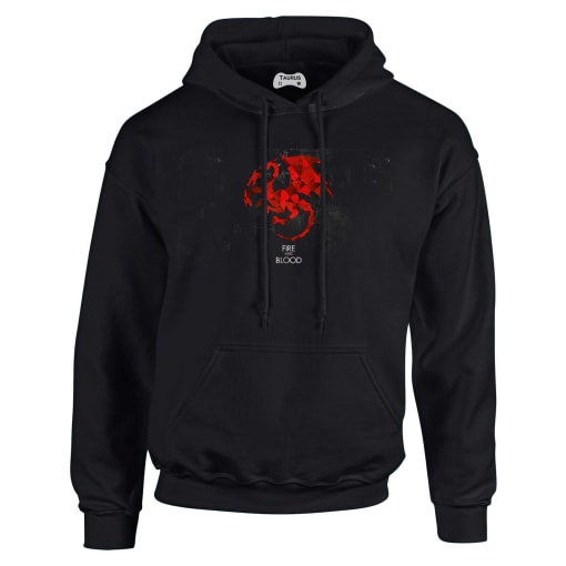 Game Of Thrones Hoodie Fire And Blood