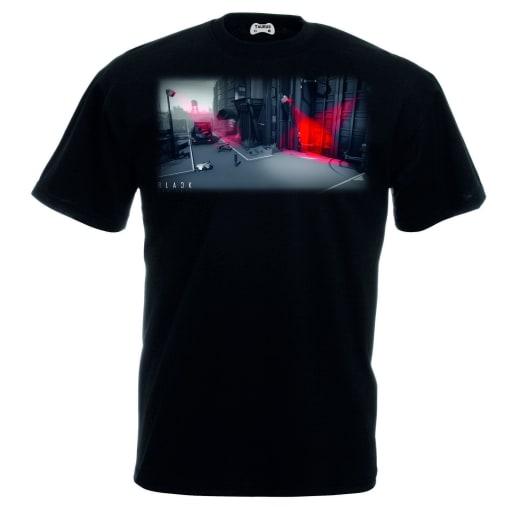 Black The Fall T-Shirt Scene