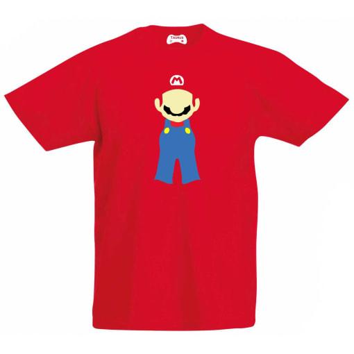 Mario Kids T-Shirt Red