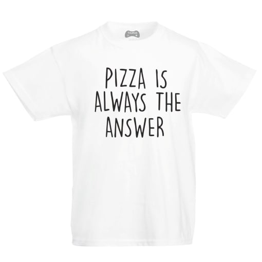 Pizza Kids T-Shirt Is The Answer