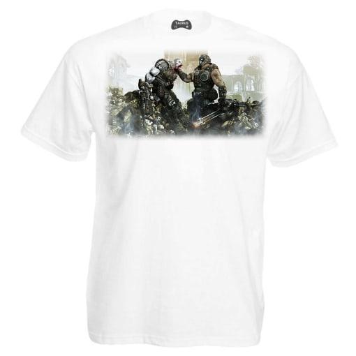 Gears of War 4 T-Shirt Face Off