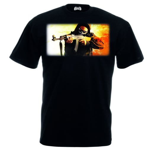 Counter Strike Global Offensive T-Shirt Action
