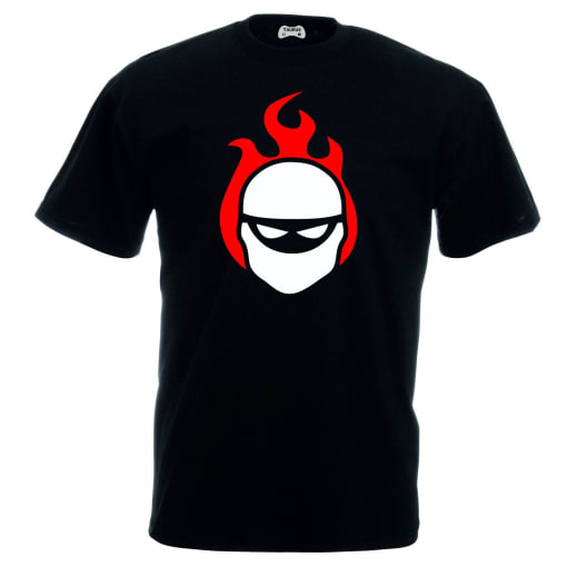 Halo T-Shirt Flaming Ninja