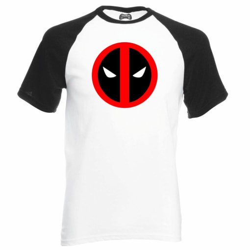 Mr Deadpool Geek Raglan T-Shirt