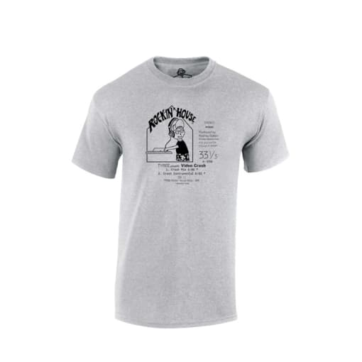 Tyree Cooper Video Crash Rockin House Records T Shirt