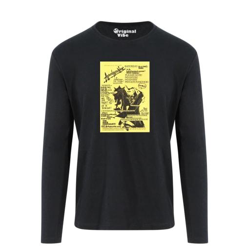 Apocalypse Now December 1988 Flyer T Shirt