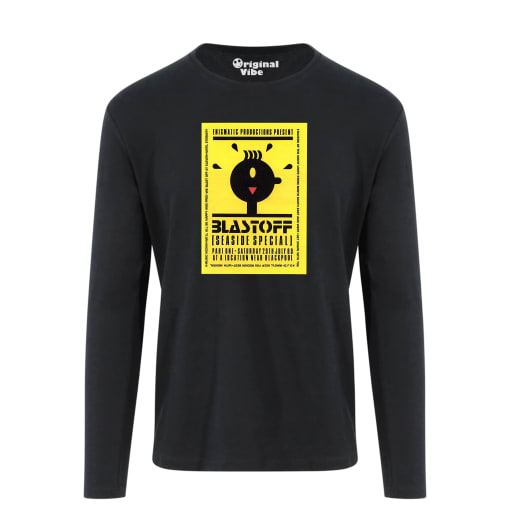 Blast Off NR Blackpool 1989 Flyer T Shirt