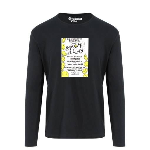 Shoom 1988 Flyer T Shirt