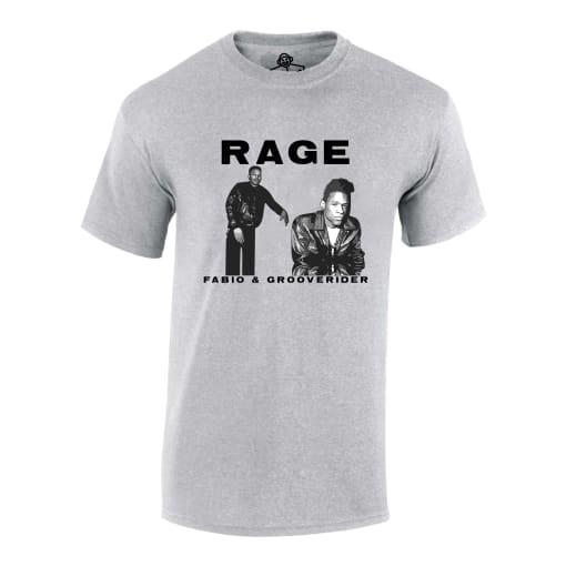 Fabio and Grooverider Rage T Shirt