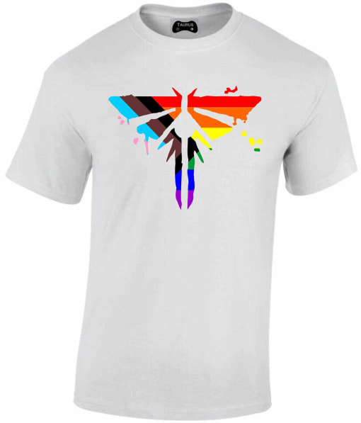 The Last of Us Part 2 T Shirt Pride Progression Firefly
